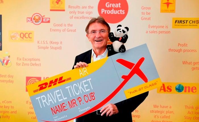 Ken Allen - Ticket for the Panda