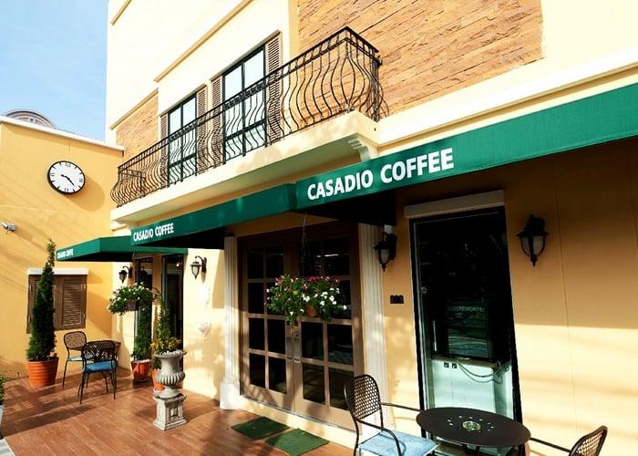 ร้าน Casadio Coffee หนึ่งในร้านที่ขายดีลกับ Ensogo