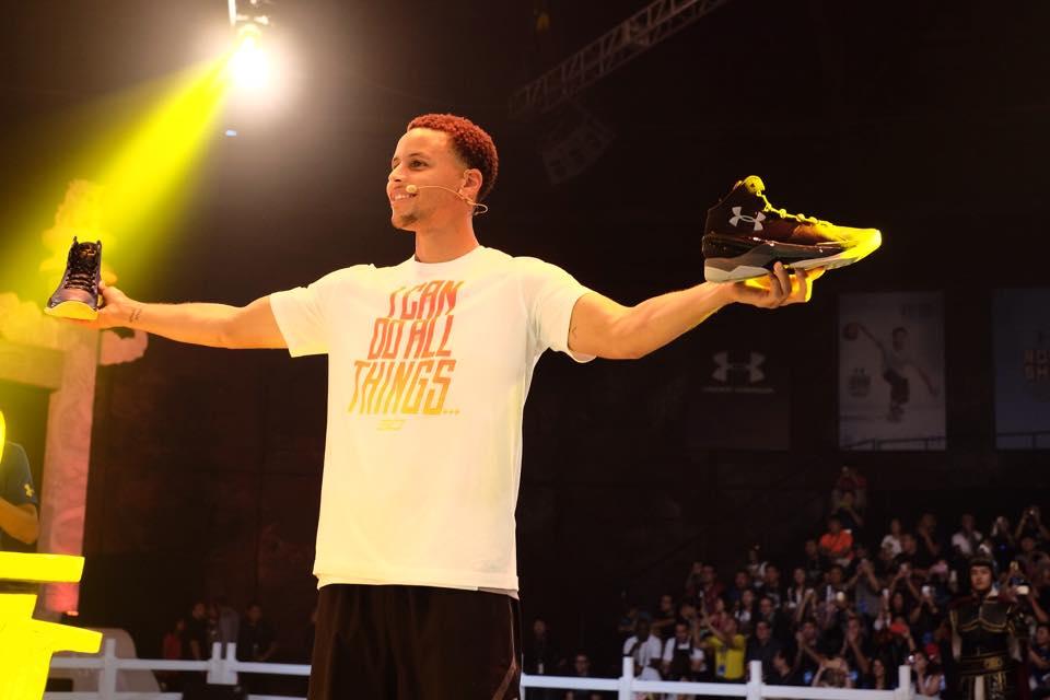 Stephen Curry เปิดตัวรองเท้ารุ่น Curry Two กับ Under Armour