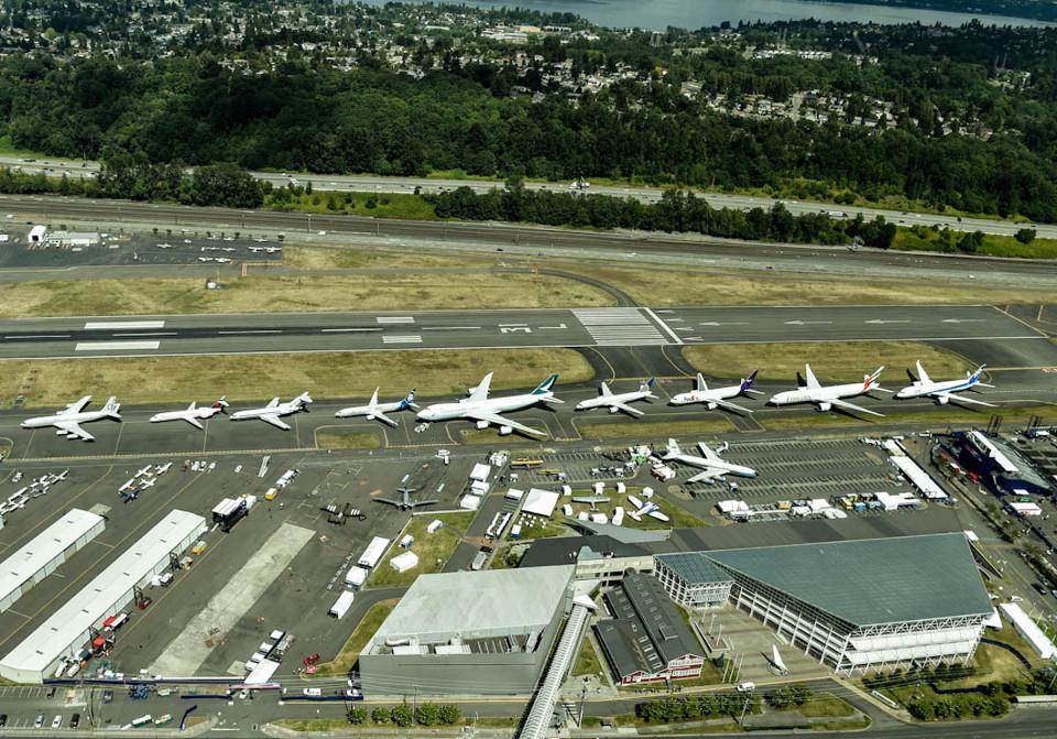 งานฉลองครบ 100 ปีของ Boeing ที่ซีแอทเทิล