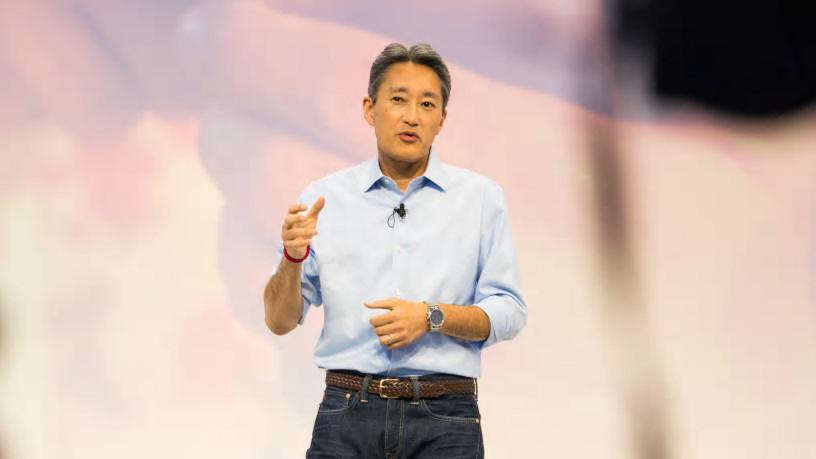 Kazuo Hirai ซีอีโอของ Sony Corporation