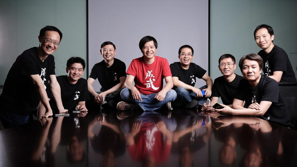 ทีมผู้ก่อตั้ง Xiaomi