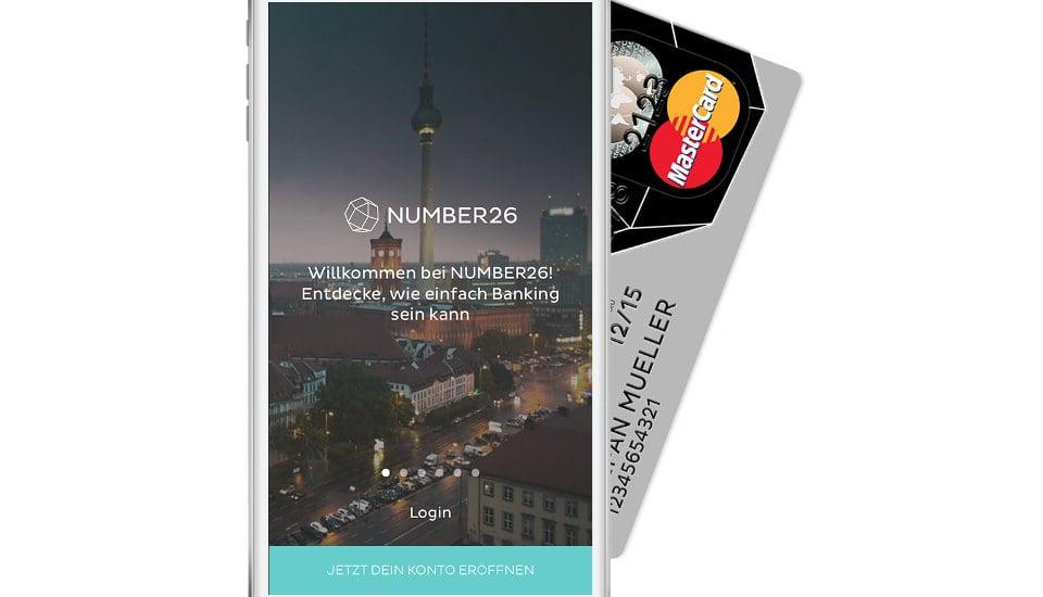 MasterCard ของ N26 มีทั้งบัตรจริงและจ่ายผ่านแอพ