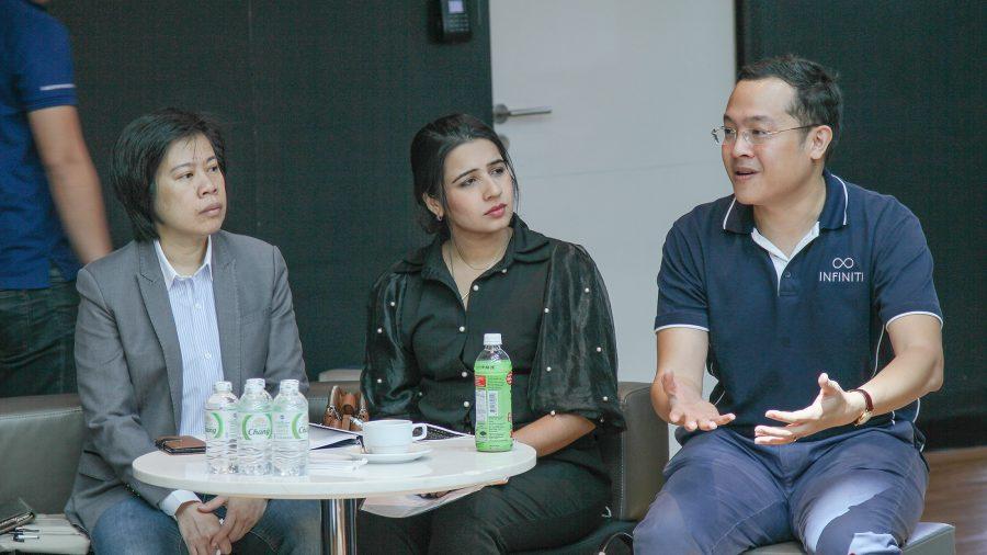 บรรยากาศของการประชุมชมรมฟินเทคไทย