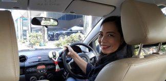 คนชับ Uber ที่เป็นเพศหญิง ในประเทศไทย