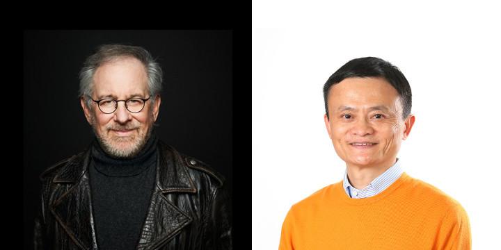 steven spielberg Jack Ma