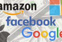 Facebook Google Amazon Apple Microsoft