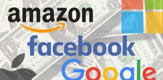 Facebook Google Amazon Apple Microsoft
