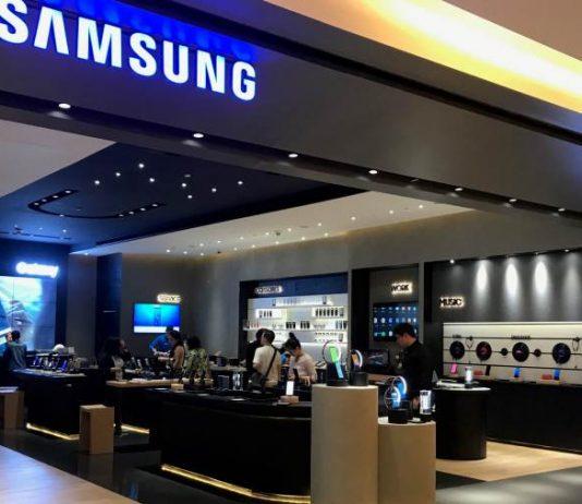 ภายในร้าน Samsung Experience Shop