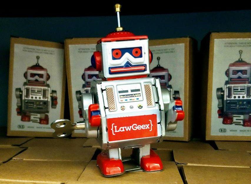 หุ่นยนต์ AI กฎหมาย