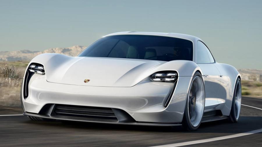 Porsche Mission E EV Luxury Concept