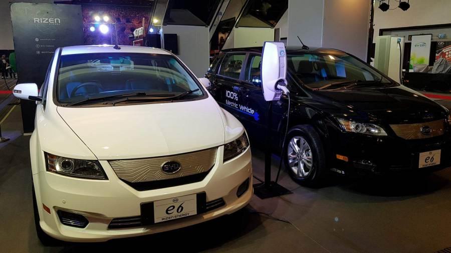 BYD รุ่น E6 รถยนต์ไฟฟ้าแบบ MPV จากประเทศจีน