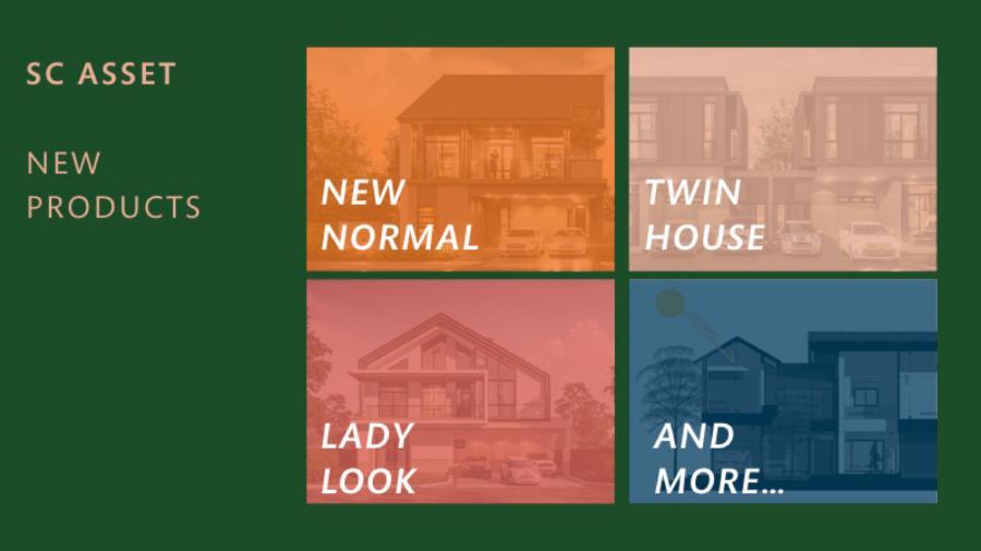 แผนการออกแบบบ้านของ SC Asset