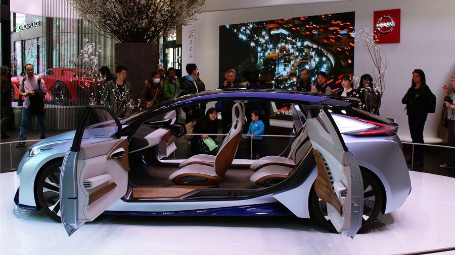Nissan รถยนต์ไฟฟ้า นิสสัน รถยนต์ไร้คนขับ