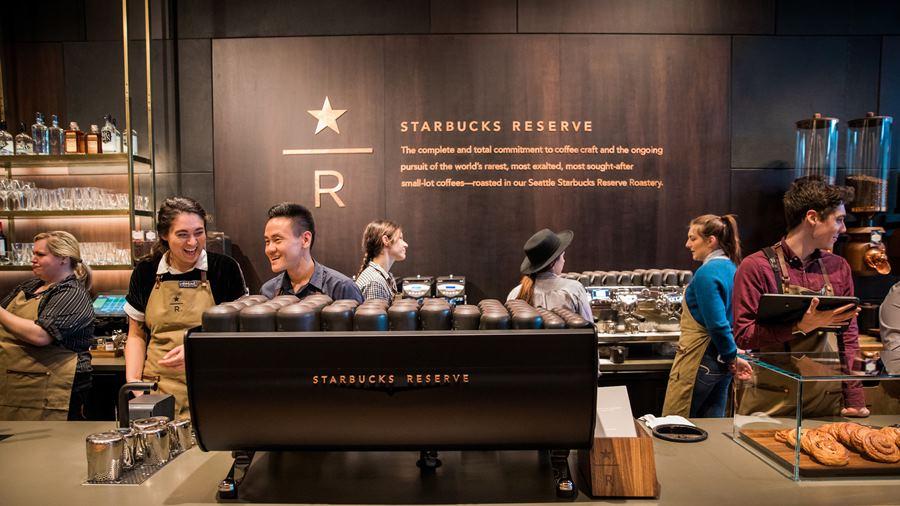 ภาพของ Starbucks Reserve สาขาซีแอตเทิล