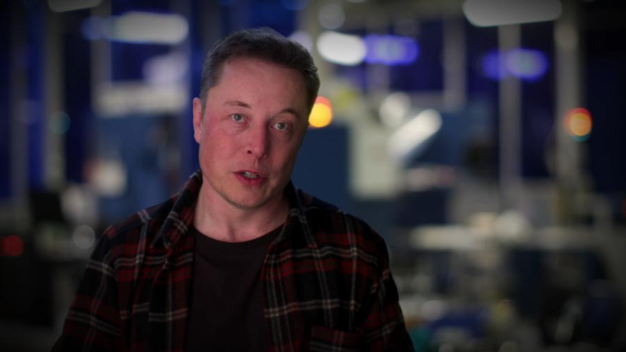 Elon Musk จากสารคดีเรื่อง Do You Trust This Computer?