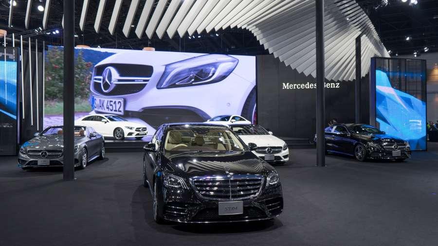 รถยนต์รุ่นใหม่ของ Mercedes-Benz
