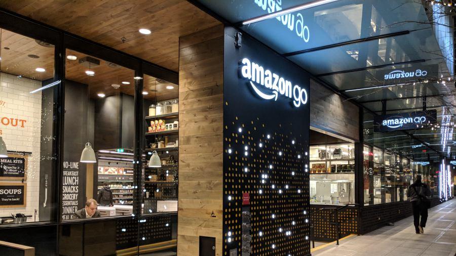 ร้าน Amazon Go