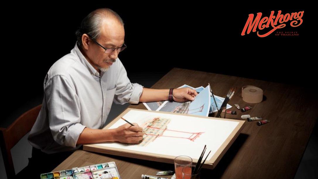 อาจารย์เกริกบุระ ยมนาค Iconic Thai Artist