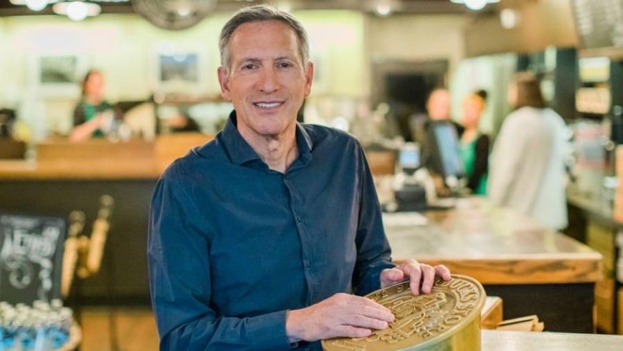 Howard Schultz (อดีต)ประธานบอร์ดบริหารของ Starbucks