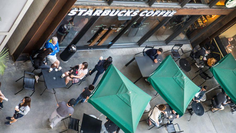 Starbucks สตาร์บัคส์ กาแฟ สาขา หน้าร้าน