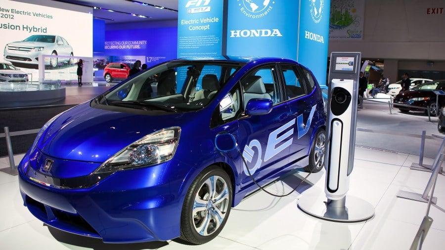Honda ฮอนด้า รถยนต์ไฟฟ้า แบตเตอรี่ไฟฟ้า