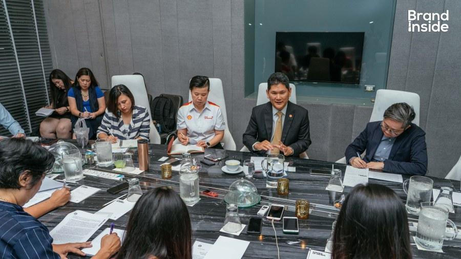 อัษฎา หะรินสุต ประธานกรรมการ บริษัท เชลล์แห่งประเทศไทย จำกัด
