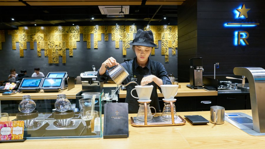 Starbucks Reserve store เกาหลีใต้