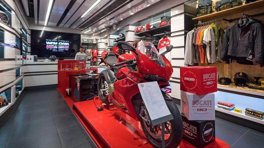 Ducati Shop