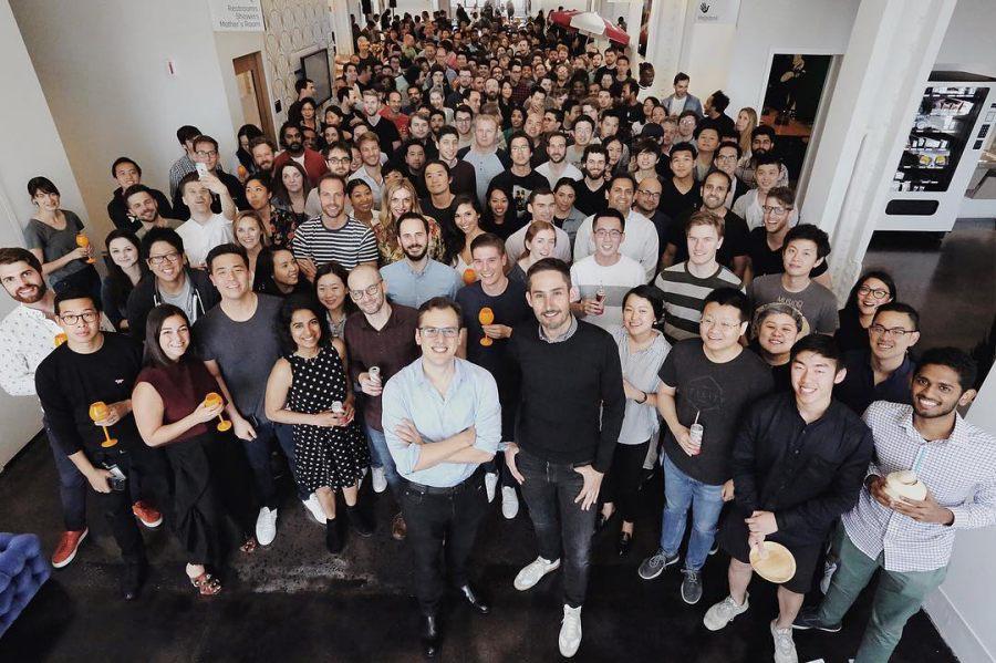 ผู้ร่วมก่อตั้ง Instagram และทีมงานที่นิวยอร์ก