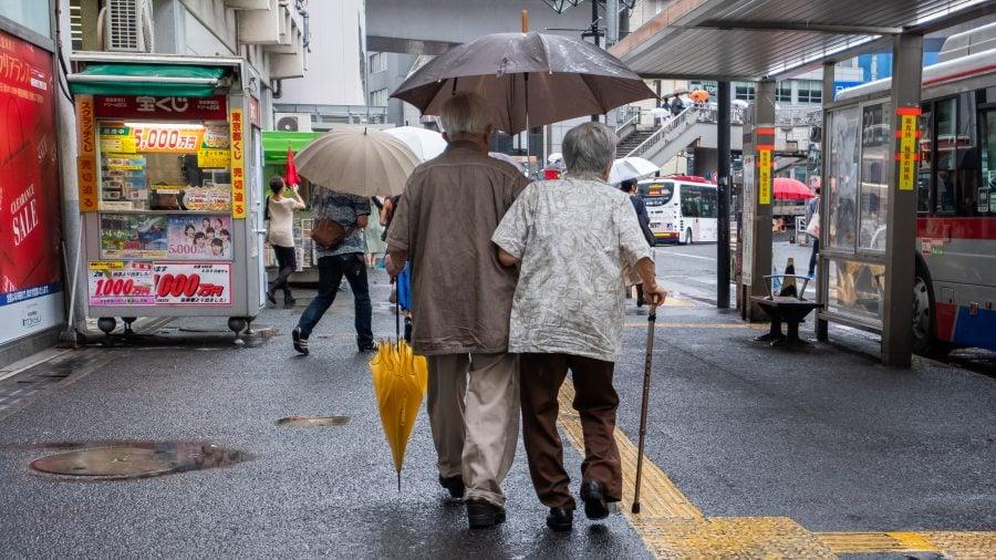 Japan Aging Society สูงวัย ญี่ปุ่น สูงอายุ