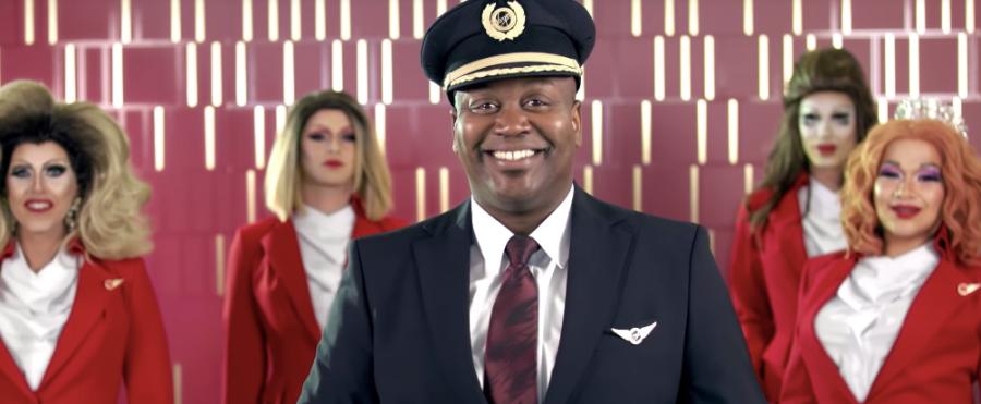 Pride Flight by Virgin Atlantic