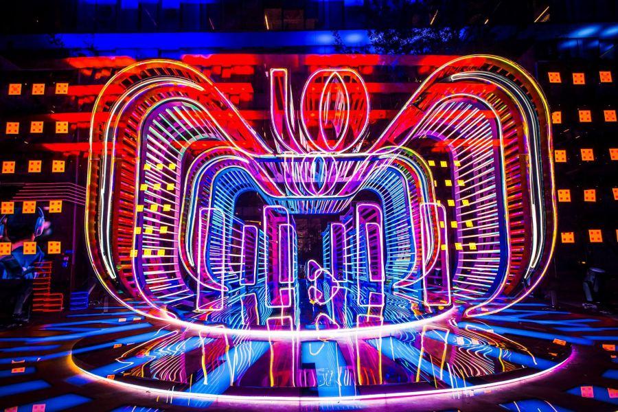 ภาพหน้างานเทศกาลช้อปปิ้ง 11.11 ครบรอบ 10 ปี Photo: Alibaba.com