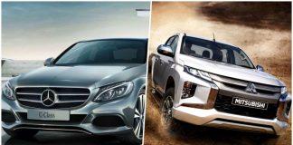 Mercedes-Benz กับ Mitsubishi