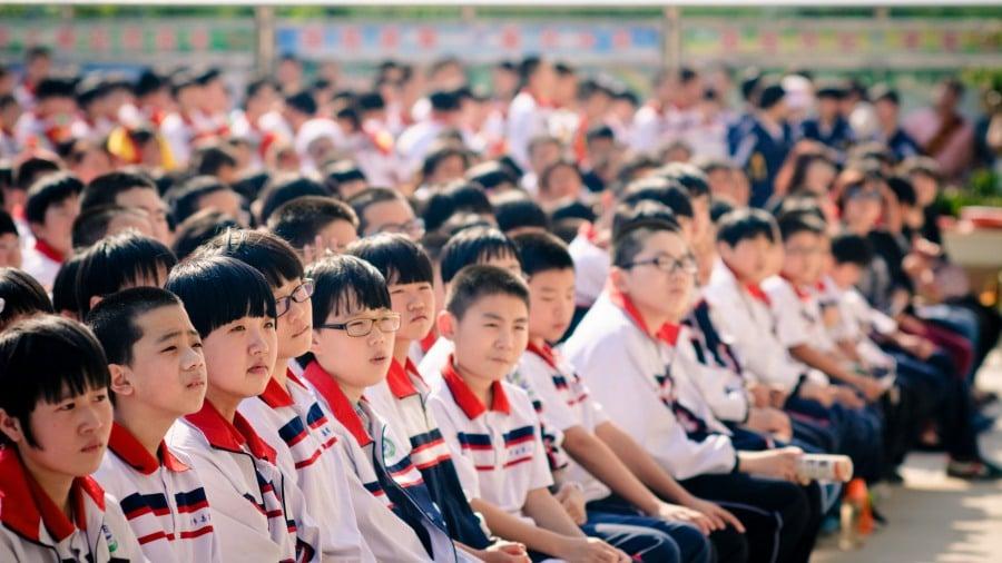 นักเรียนในประเทศจีน
