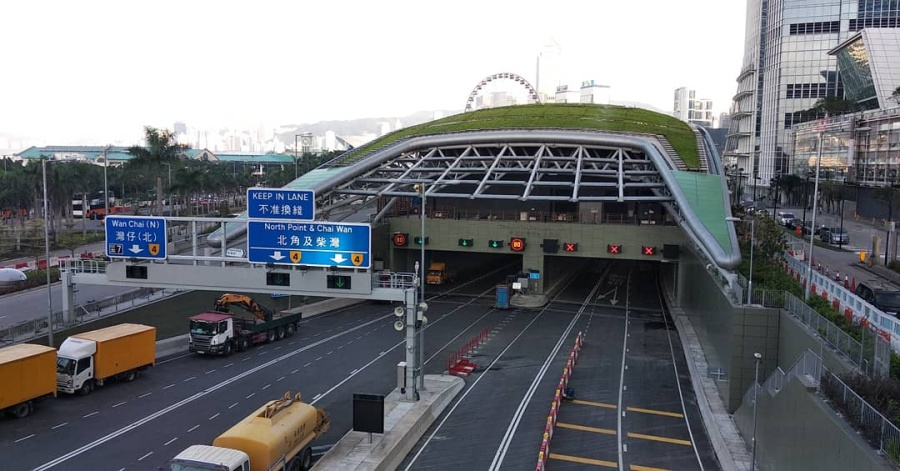 Central–Wan Chai Bypass by Sanmosa