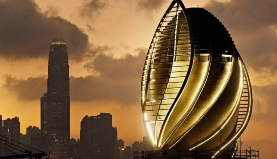 หอคอยฟอกอากาศขนาดใหญ่ในฮ่องกง Photo: Handout (ข่าวแถลง)