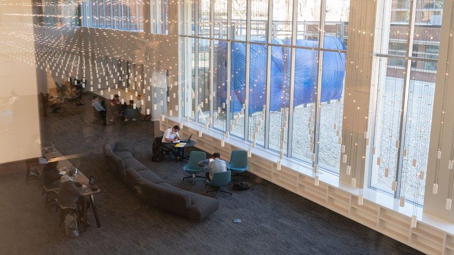 ห้องสมุดของสถาบันเทคโนโลยีจอร์เจีย หรือ Georgia Tech Photo: www.news.gatech.edu