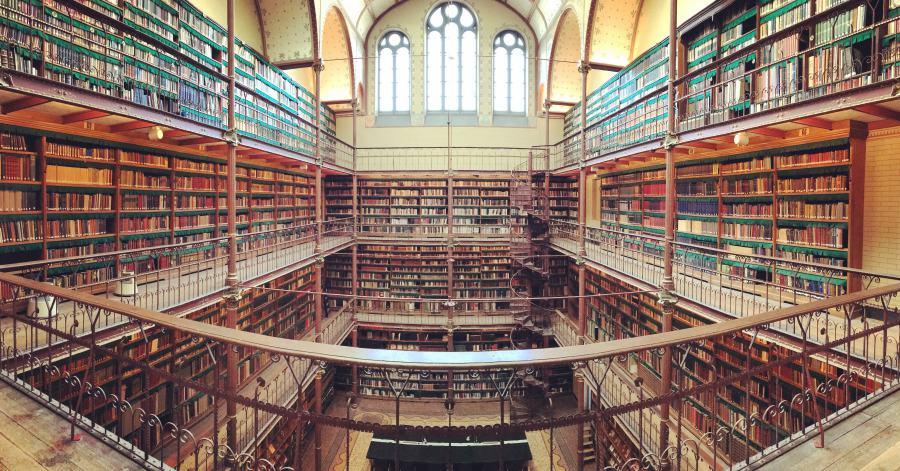 ห้องสมุด หนังสือ