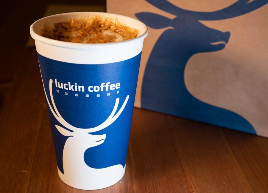 Luckin Coffee กาแฟ จีน