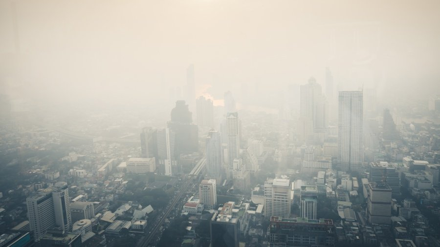 บรรยากาศกรุงเทพมหานคร อากาศ PM 2.5