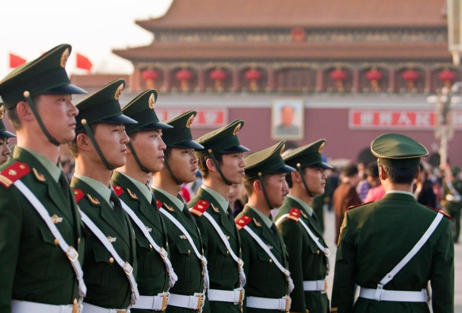 ทหารจีน จีน ทหาร กองทัพ