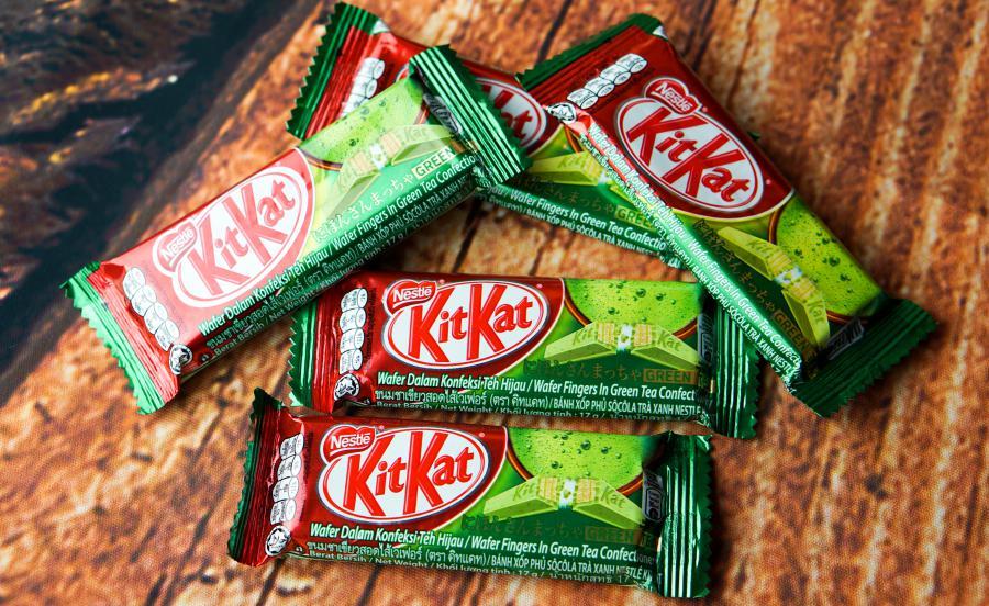 KitKat รสชาเขียว