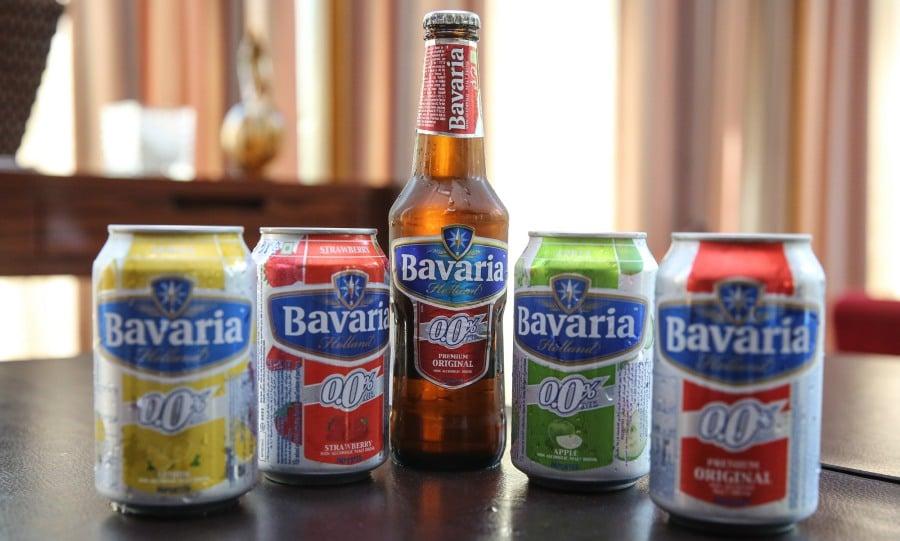 บาวาเรีย 0.0% มอลต์ ดริ้งค์ ไม่ใช่เครื่องดื่มแอลกอฮอล์