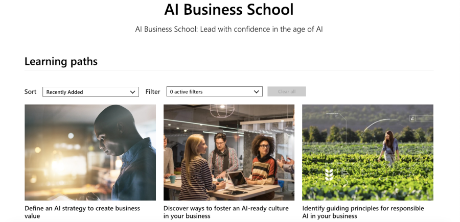 Microsoft AI Business School