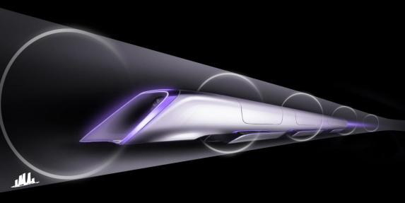ตัวอย่างหน้าตาไฮเปอร์ลูปของ Tesla