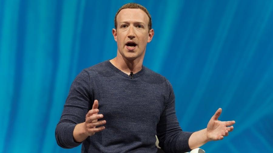 Mark Zuckerberg ซีอีโอและผู้ก่อตั้ง Facebook Photo: Shutterstock