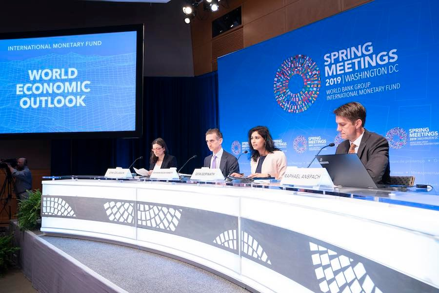 IMF ปรับประมาณการ GDP โลกโตเพียงแค่ 3 3% ต่ำสุดในรอบ 10 ปี