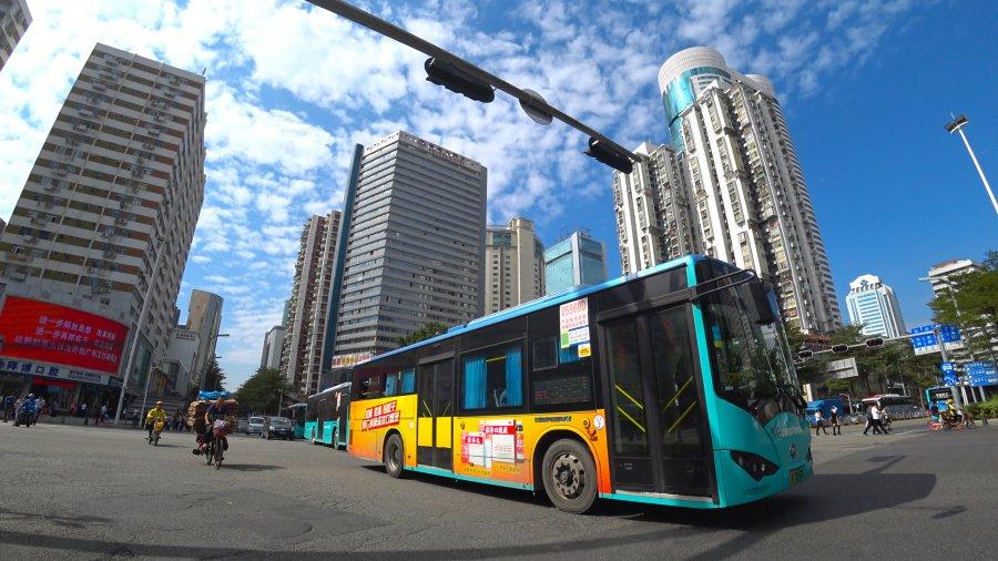 รถเมล์ไฟฟ้า จีน Electric Bus China