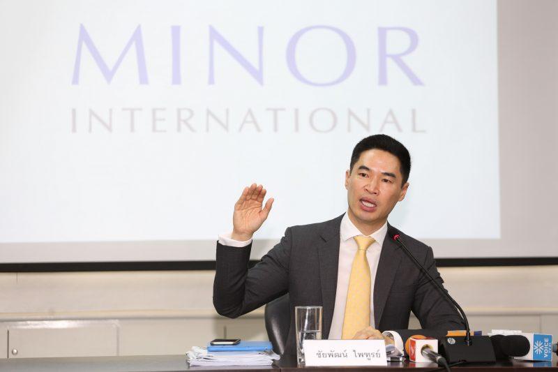 ชัยพัฒน์ ไพฑูรย์ รองประธานเจ้าหน้าที่การเงินส่วนกลาง และวางแผนกลยุทธ์ บริษัท ไมเนอร์ อินเตอร์เนชั่นนอล จำกัด (มหาชน)